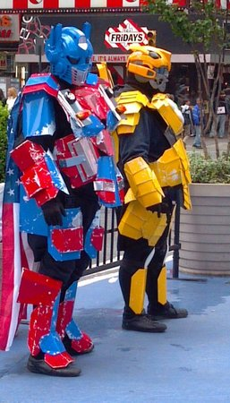 Times Square: Colorful Characters