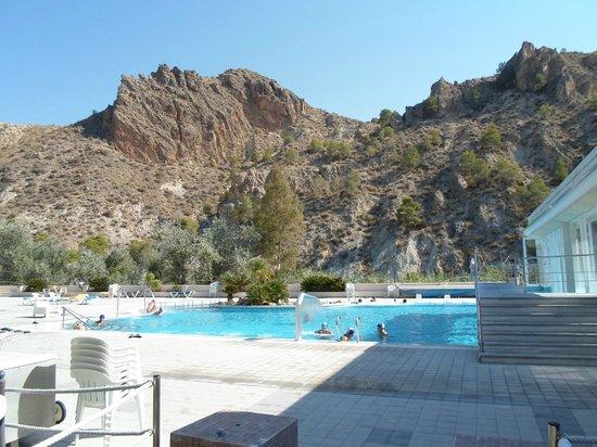 Balneario de Archena - Hotel Levante: Balneario-Exterior