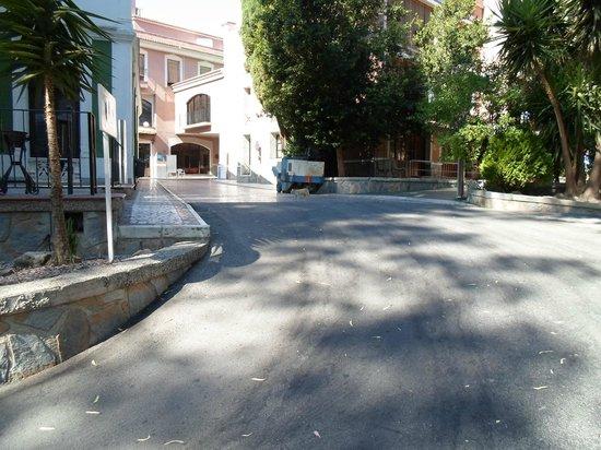 Balneario de Archena - Hotel Levante: Paseo Balneario