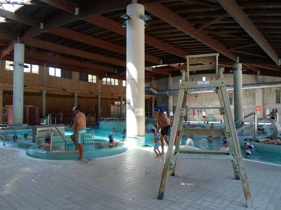 Balneario de Archena - Hotel Levante: Balneario-Interior