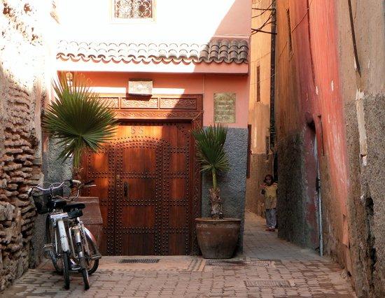 Riad Les Jardins Mandaline : entrée du riad