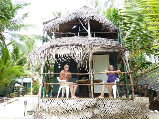 Matriki Beach Huts: Tarzan and Jane at the Tree House