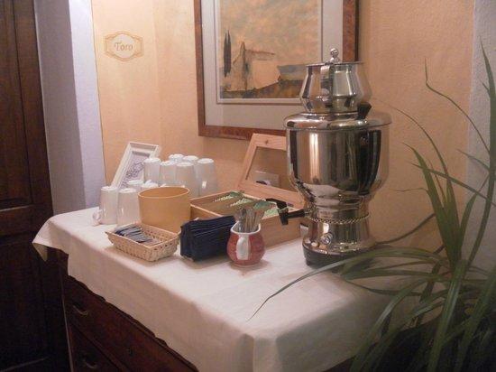 Hotel Palazzo del Capitano Exclusive Wellness & Relais : Tisana della Buona notte