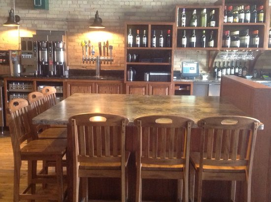 A.T. the Black and White: New wine bar and micro beers on tap!