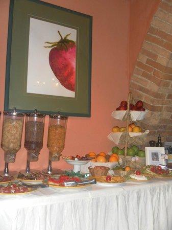 Hotel Palazzo del Capitano Exclusive Wellness & Relais: colazione