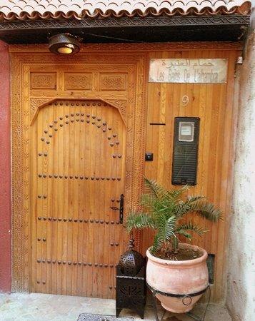 Les Bains de l'Alhambra : entrée des bains