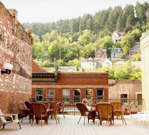 Celebrity Hotel: Outdoor Sun Deck