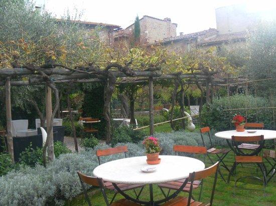 Hotel Palazzo del Capitano Exclusive Wellness & Relais: Giardino