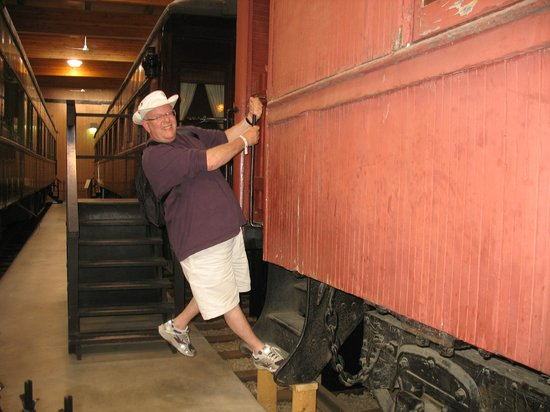 Heritage Park Historical Village: hopping a ride