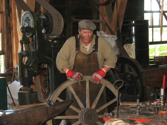 Heritage Park Historical Village: blacksmithing