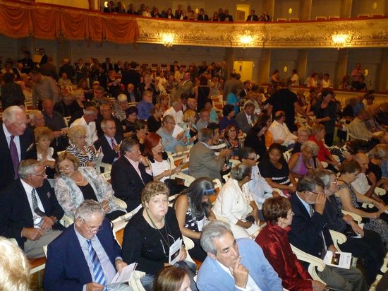 Mikhailovsky Opera and Ballet Theater: Awaiting the performance