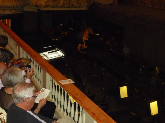 Mikhailovsky Opera and Ballet Theater: Orchestra pit with full orchestra