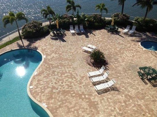 Boca Ciega Resort & Marina: Poolområde