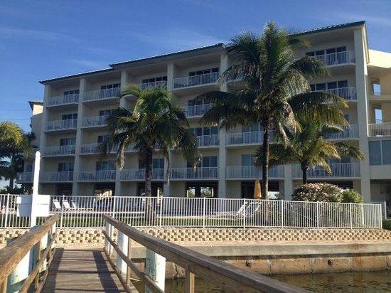 Boca Ciega Resort & Marina: Byggnaden
