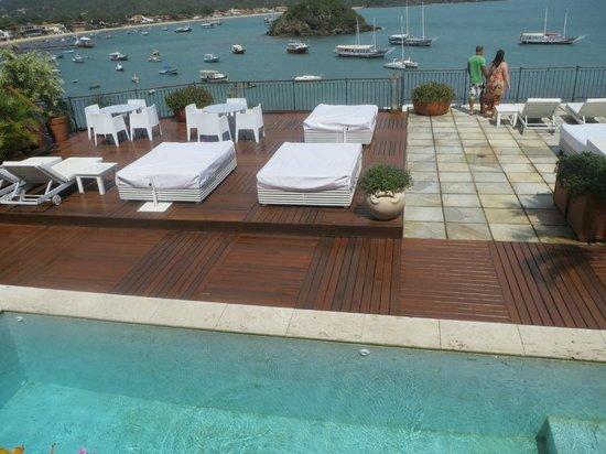 Casas Brancas Boutique Hotel & Spa: loungers