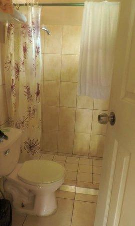 Hostal Beiro: badkamer