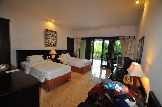 Champlung Sari Hotel: Quarto na ala reformada