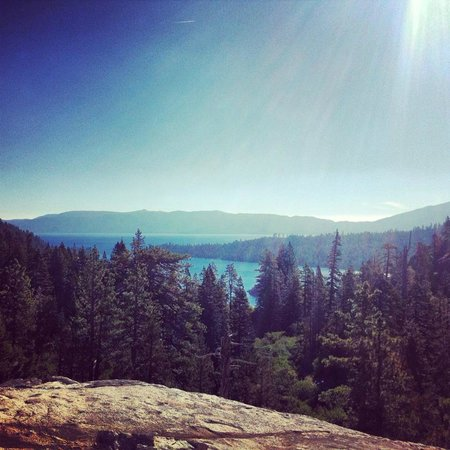 Campground by the Lake: Emerald Bay Overlook