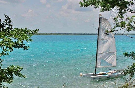 Tribu Camping: Vista panoramica del paraiso