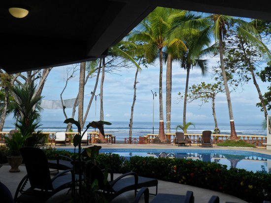 Jaco Laguna Resort & Beach Club: View from the restaurant