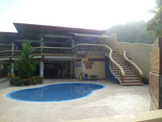 Jaco Laguna Resort & Beach Club : Jaco Laguna from the Tiki hut