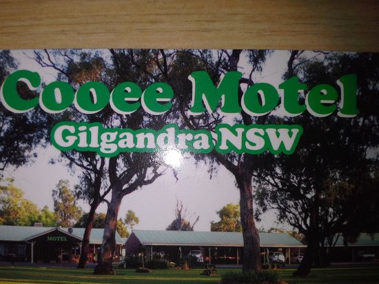 Cooee Motel : business card pic