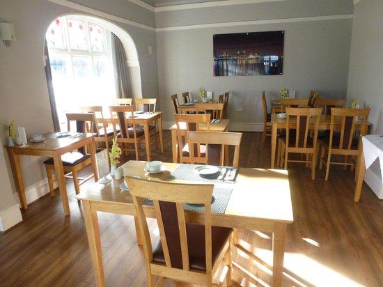 Orrell Park Hotel: Dining/Breakfast Room