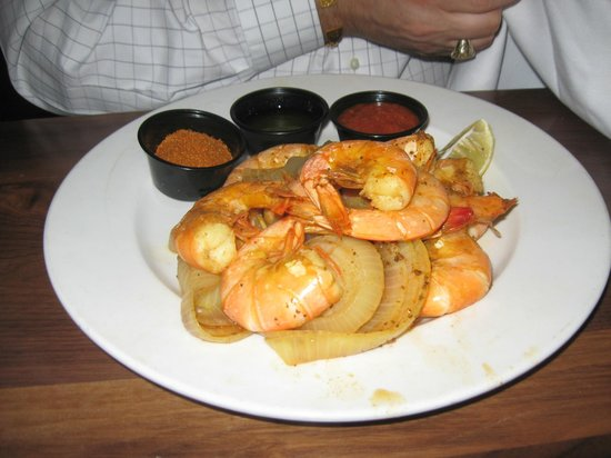 Dock Street Bar & Grill : Shrimp dinner