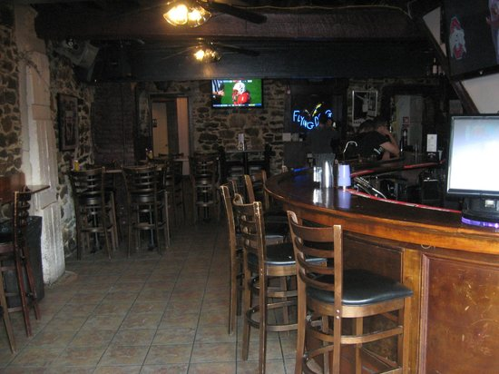 Dock Street Bar & Grill : Interior of Dock Street Grill and Bar