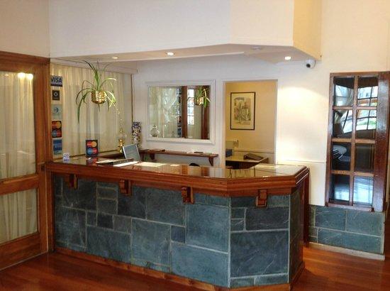 Hotel Cottbus: Recepción