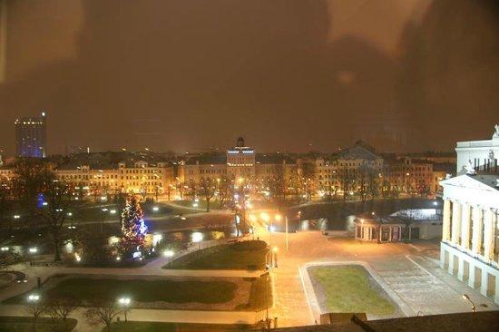 Grand Hotel Kempinski Riga: Вид из номера 2