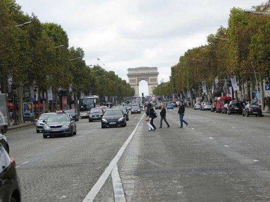 Hotel Lancaster Paris Champs-Elysees: Champs de Elyess
