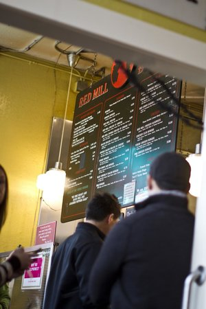 Red Mill Burgers--Interbay : Main Menu