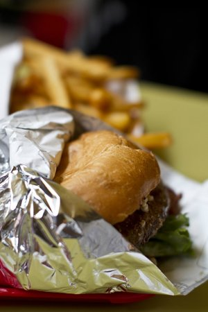 Red Mill Burgers--Interbay : Blue Cheese Burger