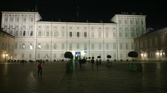 "Piazza Castello: palazzo reale ""by night"""