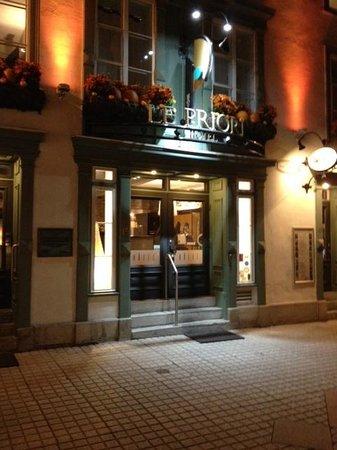 Hotel Le Priori : vue extérieur
