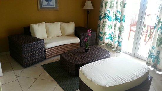 Aruba Surfside Marina : Living room