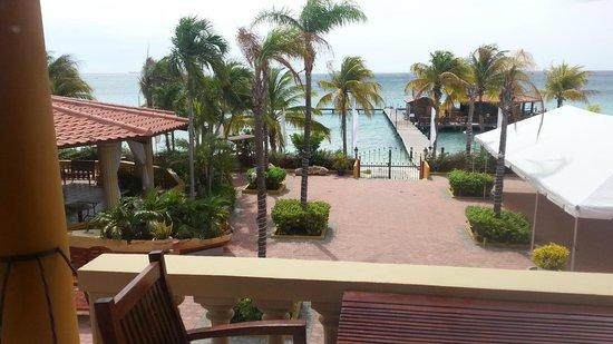Aruba Surfside Marina : View from balcony