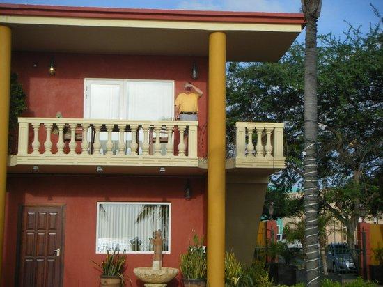Aruba Surfside Marina: Balcony
