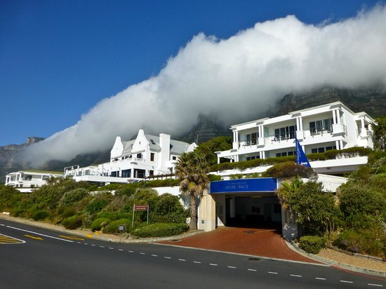 The Twelve Apostles Hotel and Spa: Backed by the Twelve Apostles
