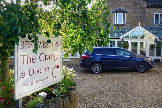 Best Western Dorset Oborne the Grange Hotel: The Grange at Oborne Entrance