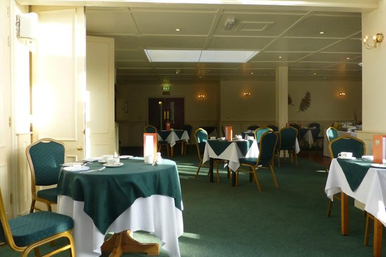 Best Western Dorset Oborne the Grange Hotel: The Grange at Oborne Breakfast and Function Room