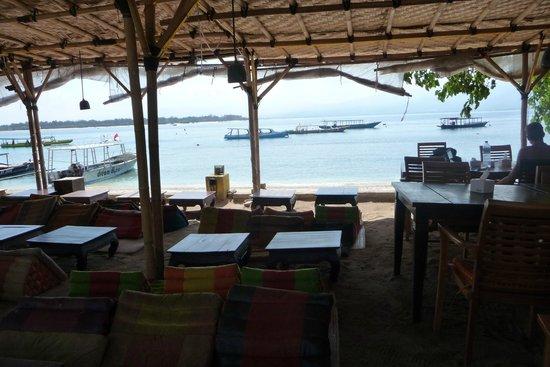 Pesona Beach Resort & Spa : Frühstücksbereich