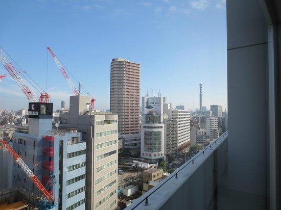Citadines Shinjuku Tokyo: View from room.