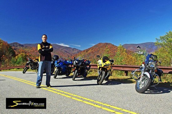 Robbinsville, Carolina del Norte: Motorcycle Rentals near The Dragon