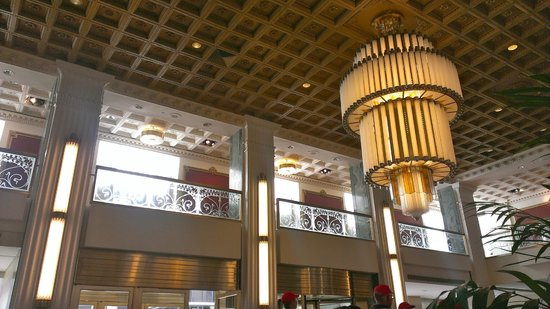 Hotel Foyer Art : Art deco detail new yorker foyer picture of the