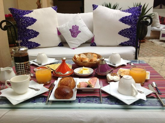 Dar Charkia: Fantastic breakfasts