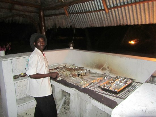 Hakuna Majiwe Beach Lodge: Il cuoco