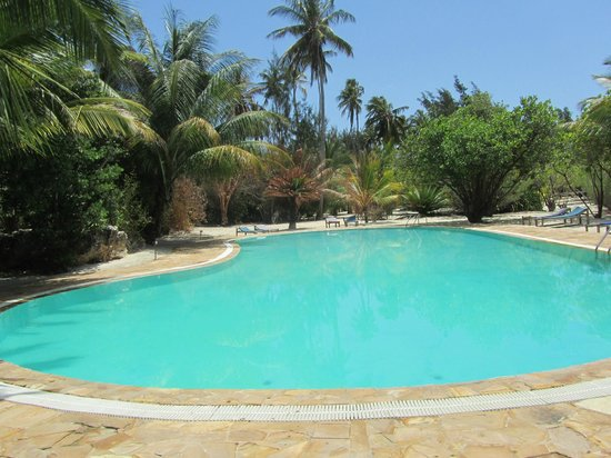 Hakuna Majiwe Beach Lodge: Piscina