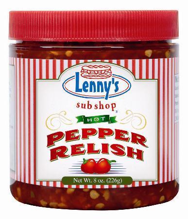 Lenny's Sub Shop: Hot Pepper Relish